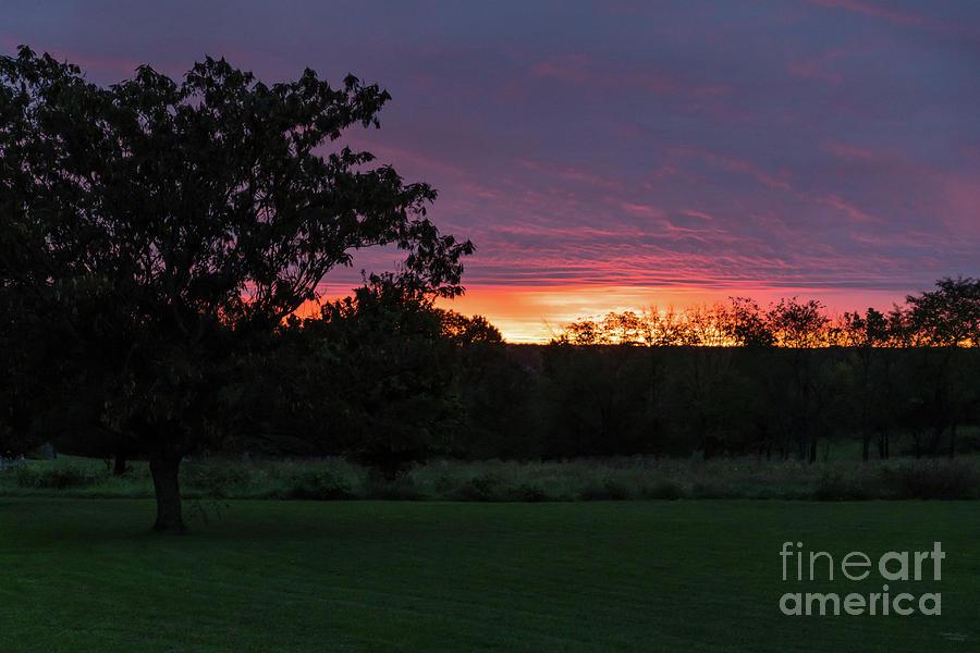 Ozarks October Sunrise by Jennifer White
