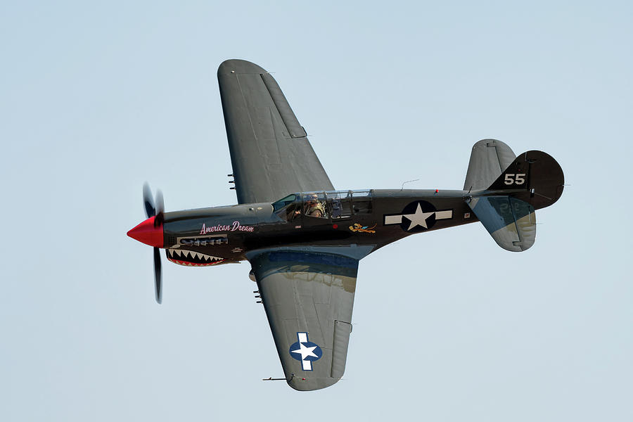 P-40 Warhawk by Chris Buff