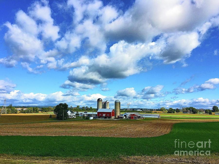 Pennsylvania Farmland by Eunice Warfel