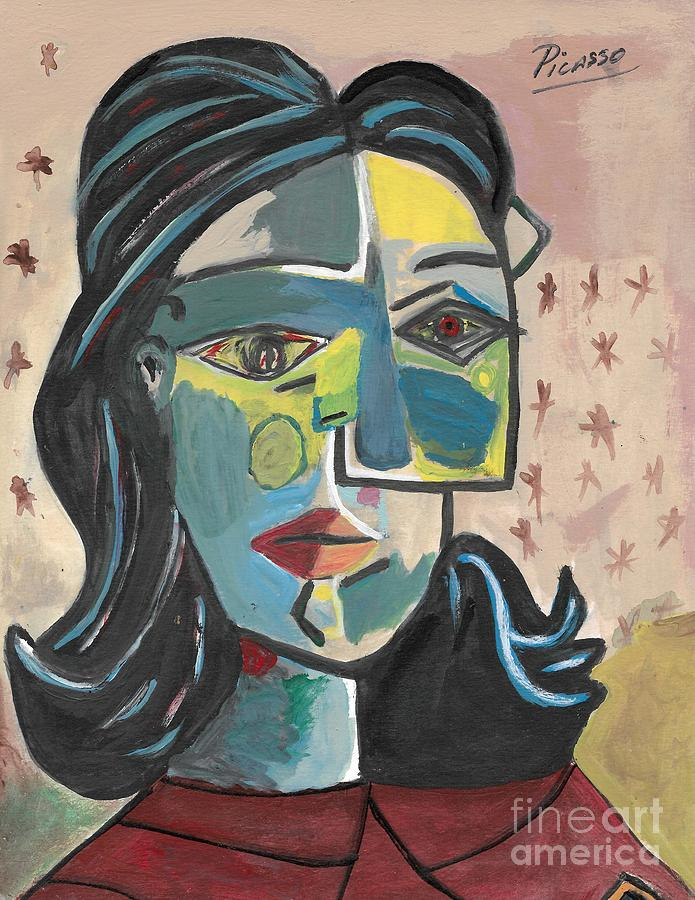 Pablo Picasso Painting Painting by New York
