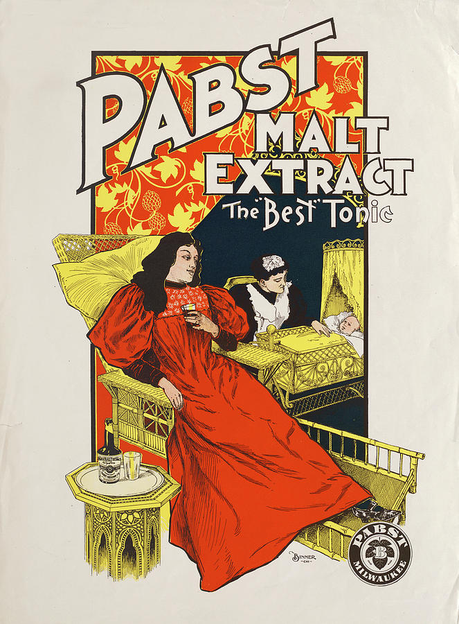 Pabst Malt Extract, The Best Tonic Photograph by The New York Historical Society