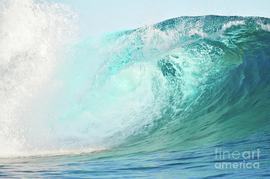 Wave Photograph - Pacific big wave by IPics Photography