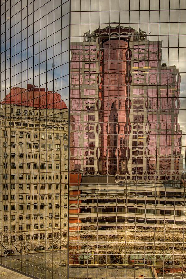Pacific Buildings by Jean Noren