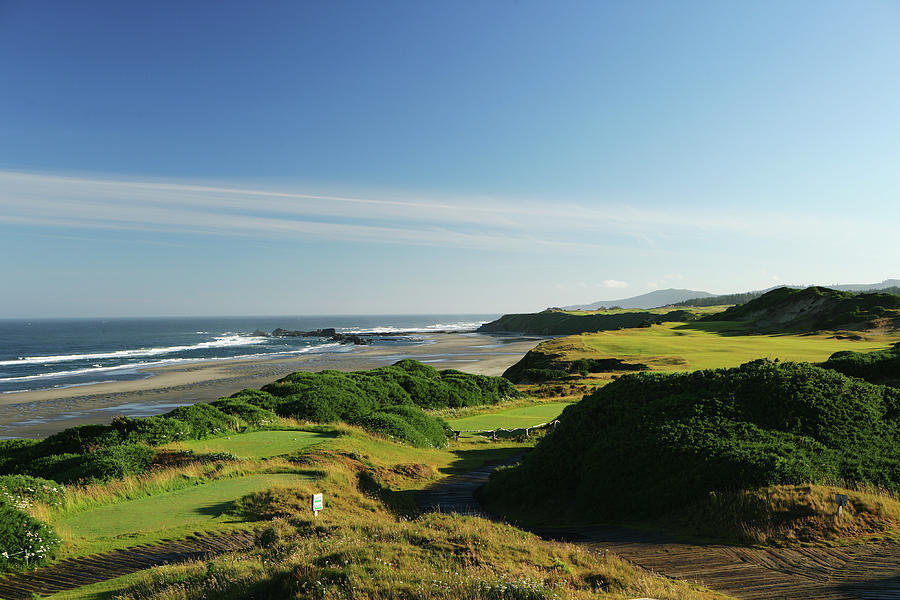 Pacific Dunes  13th Photograph by David Cannon