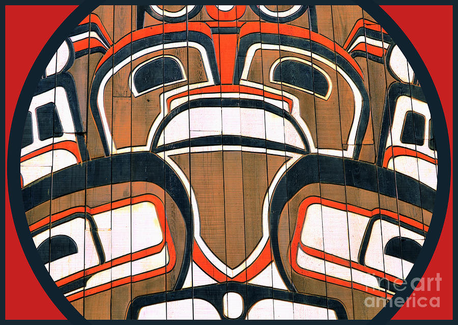 Pacific Northwest Indian Art Photograph