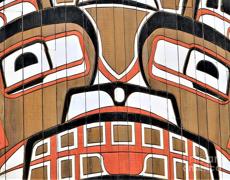 Pacific Northwest Indian Art II Photograph