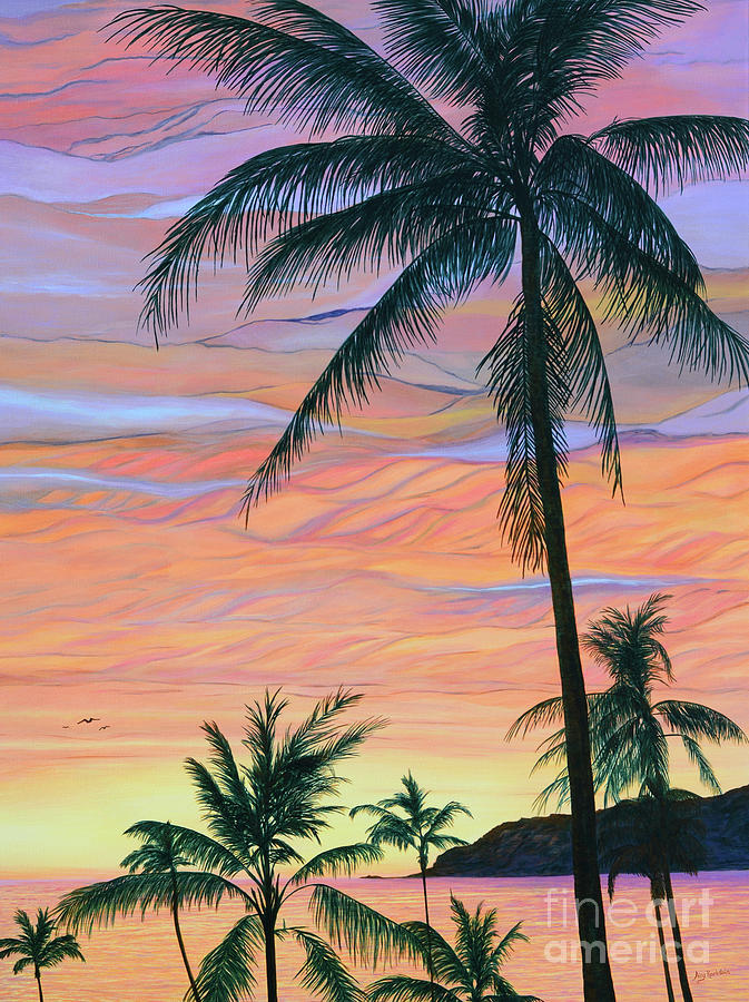 Pacific Sunset by Aicy Karbstein