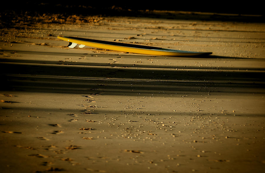 Paddle Board Photograph - Paddle Board by Byron Fair