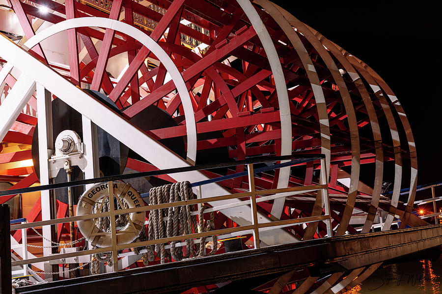 Paddle Wheel by Bryan Lee Williams