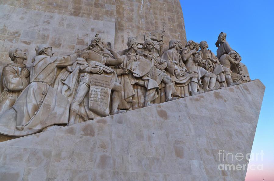 Padrao dos Descobrimentos in Lisbon by Angelo DeVal