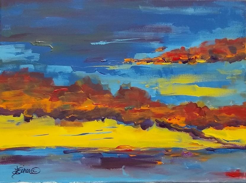 Padre Island Sunset by Terri Einer
