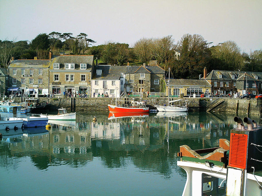 Padstow Harbour Cornwall by Richard Brookes