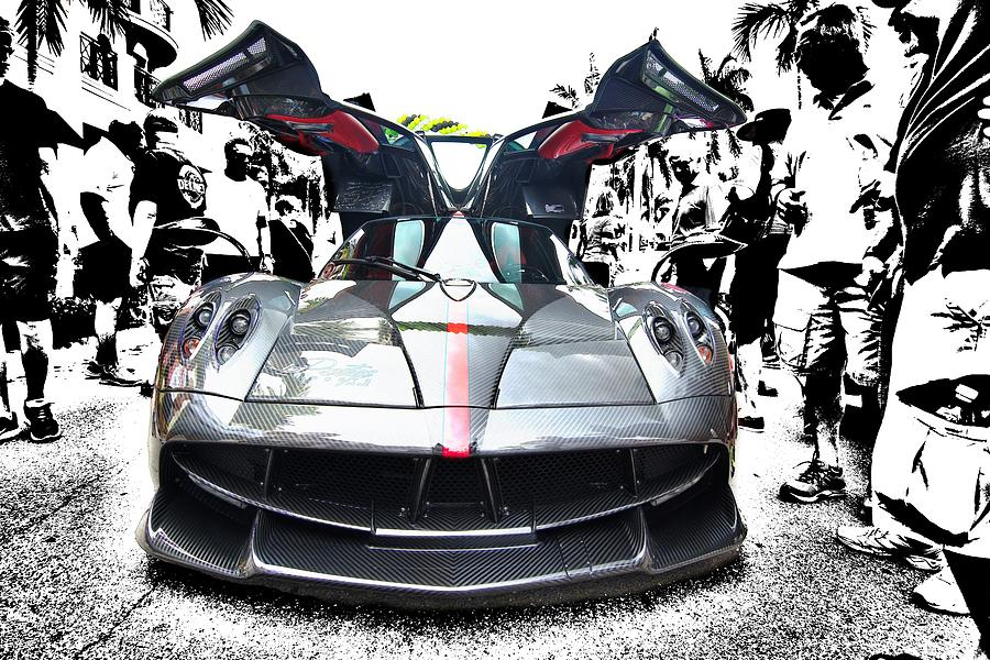 Pagani Huayra Getting Attention by Don Columbus