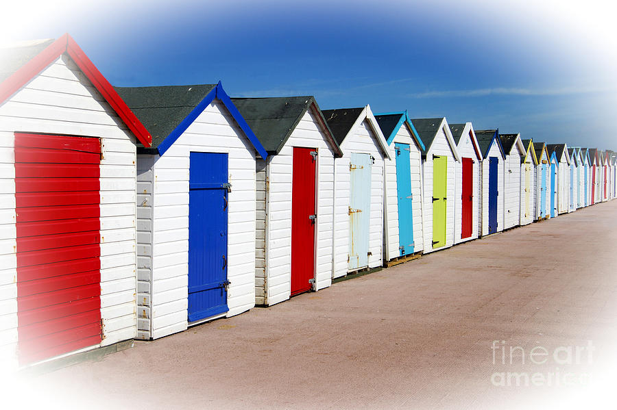 Paignton Beach Huts by David Birchall