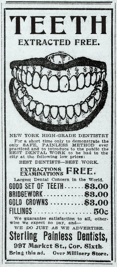 PAINLESS DENTISTRY 1906 by Daniel Hagerman