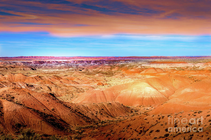 Painted Desert Dunes by Blake Webster