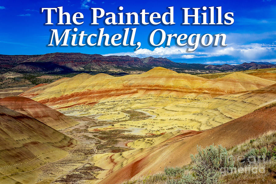 Painted Hills Photograph - Painted Hills 01 by G Matthew Laughton