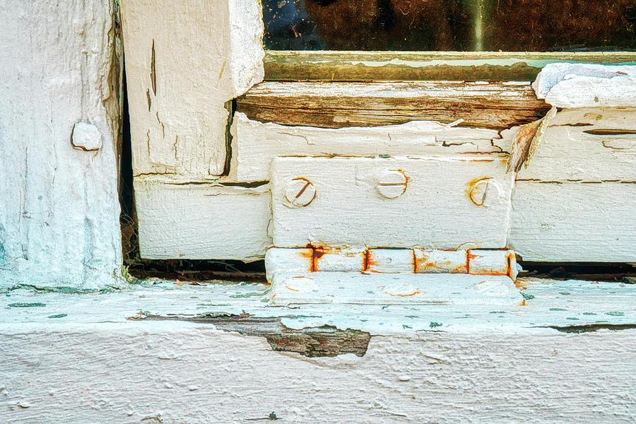 Painterly Peeling Window Paint by Gary Slawsky
