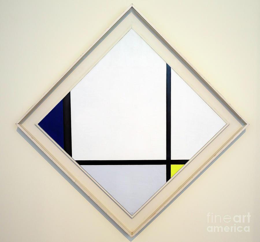 1925 Photograph - Painting No. 1 by Piet Mondrian Piet Mondriaan