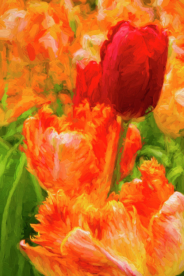 Painting Tulips by Paul W Faust - Impressions of Light