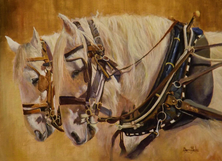 PAIR IN HARNESS by Barry BLAKE