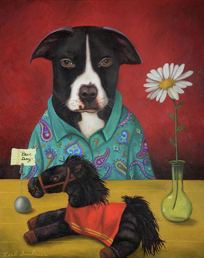 Pajama Pup by Leah Saulnier The Painting Maniac