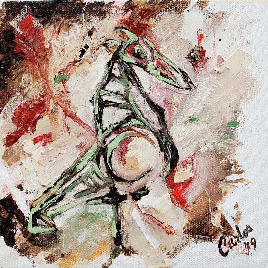 Pajaro Taino by Carlos Flores
