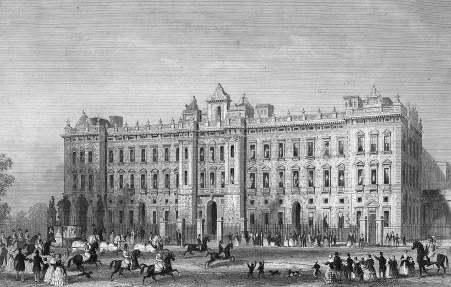 Palace East Front Digital Art by Hulton Archive