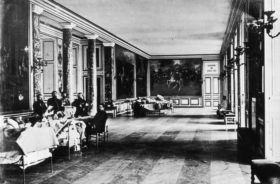 Palace Hospital Photograph by Henry Guttmann Collection