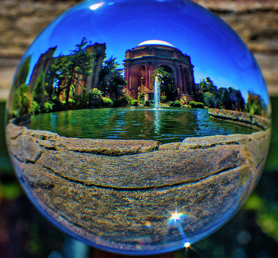 Palace Of Fine Arts Photograph - Palace Of Fine Arts Sphere by Garry Gay