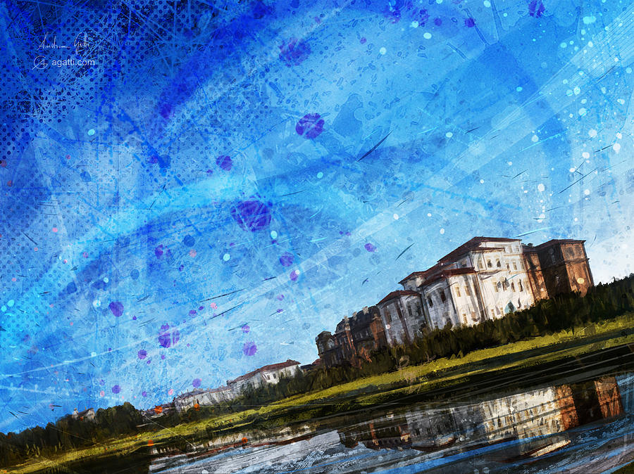 Palace Of Venaria Digital Art