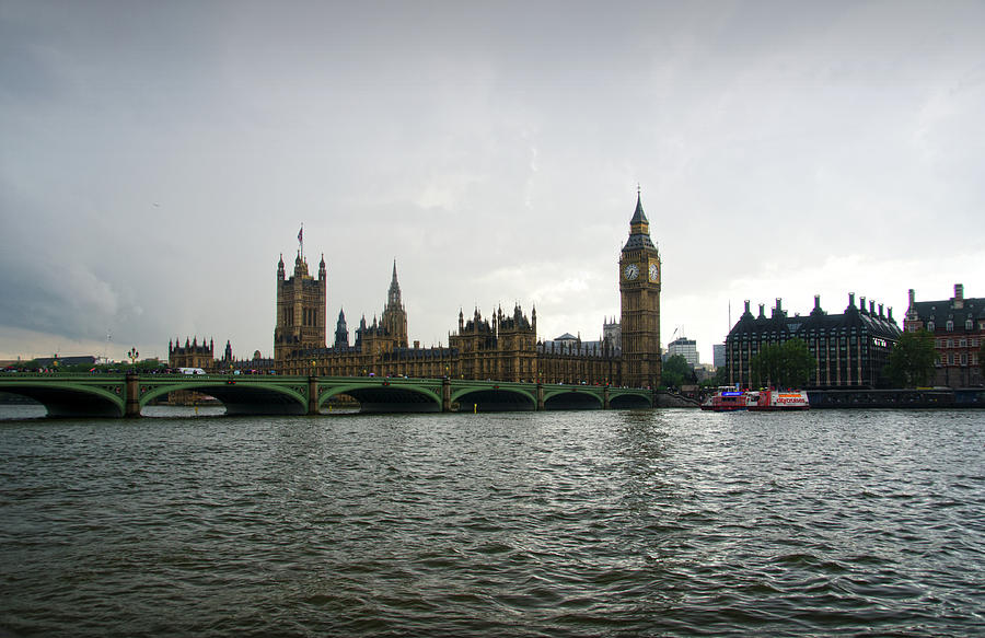 Palace of Westminster Seen from across the River Thames by RicardMN Photography