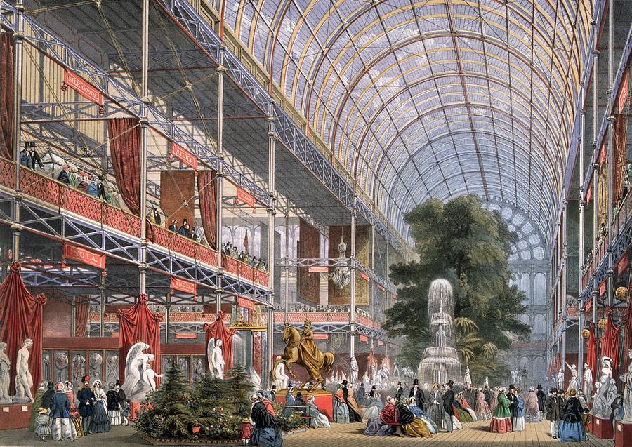 Palace Transept Digital Art by Hulton Archive