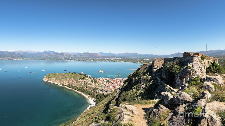 Palamidi fortress in Nafplio, Greece by Didier Marti