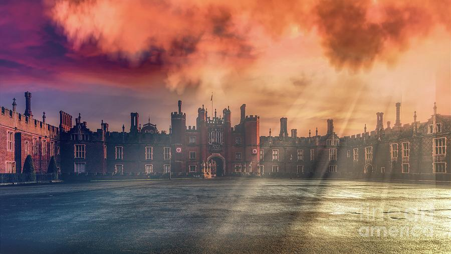 Hampton Court Palace Photograph - Palatial by Leigh Kemp