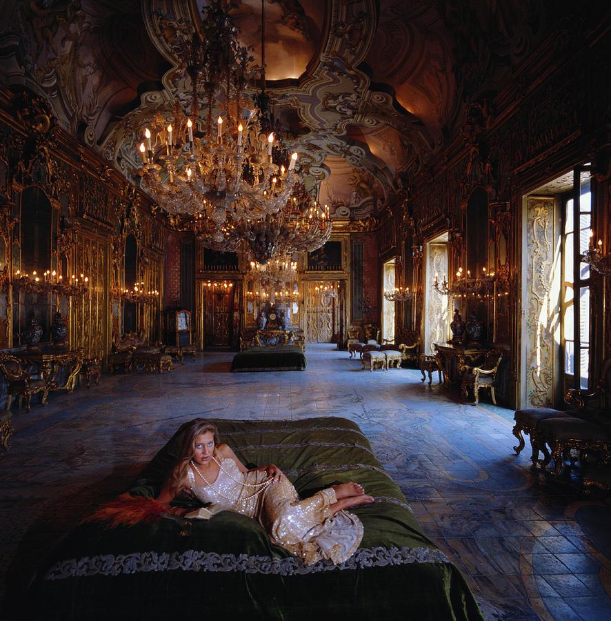 Palazzo Gangi Photograph by Slim Aarons