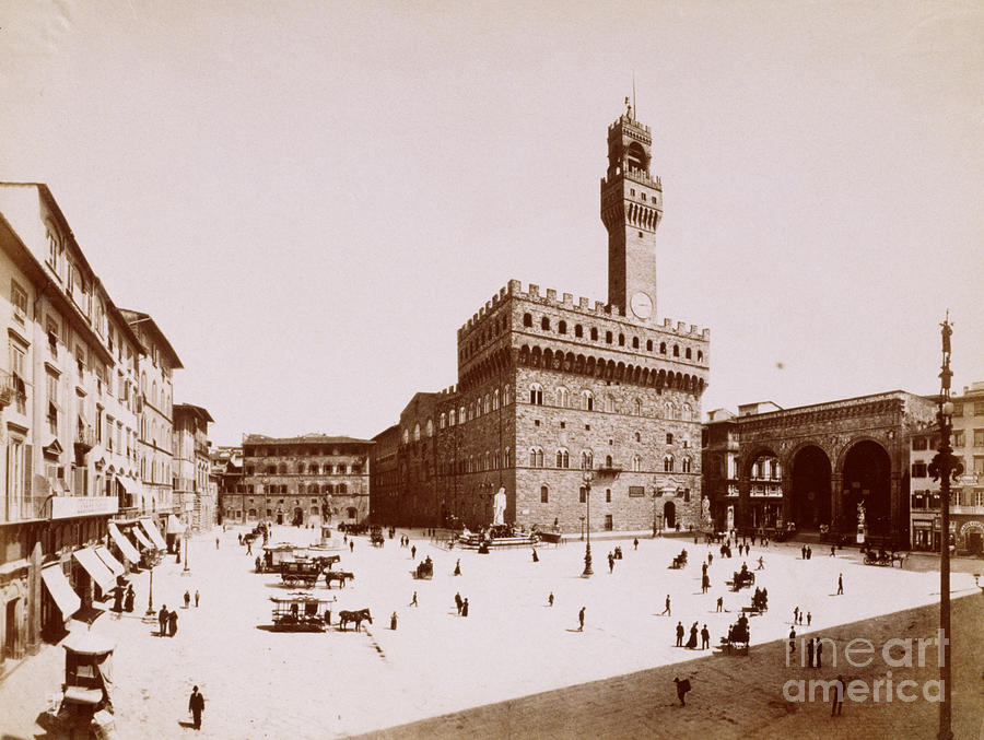 Palazzo Vecchio In Florence Photograph by Bettmann