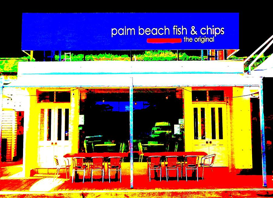 Palm Beach Australia - Fish and Chips by VIVA Anderson