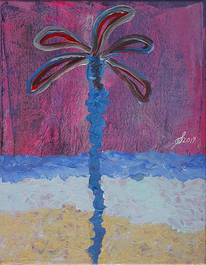 Palm Beach original painting by Sol Luckman