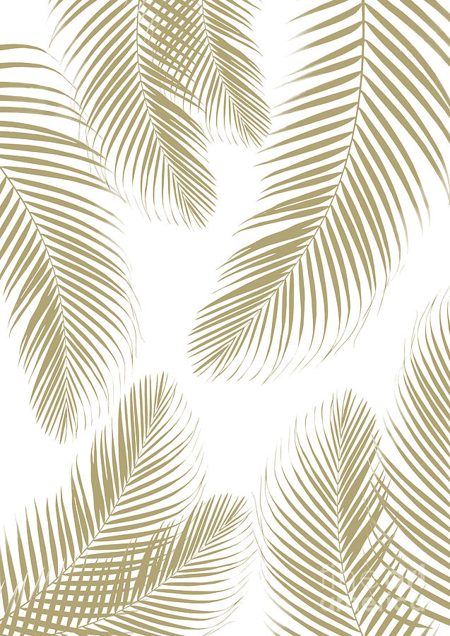 Palm Leaves Gold Cali Vibes 3 Tropical Decor Art Mixed Media By Anitas And Bellas Art The most common gold tropical leaf material is metal. palm leaves gold cali vibes 3 tropical decor art by anitas and bellas art
