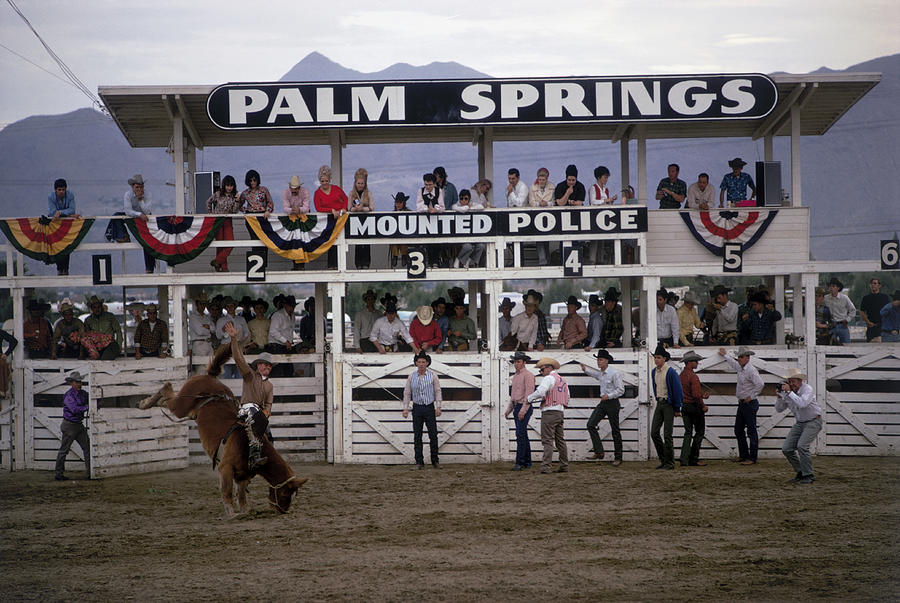 Palm Springs Rodeo Photograph by Slim Aarons