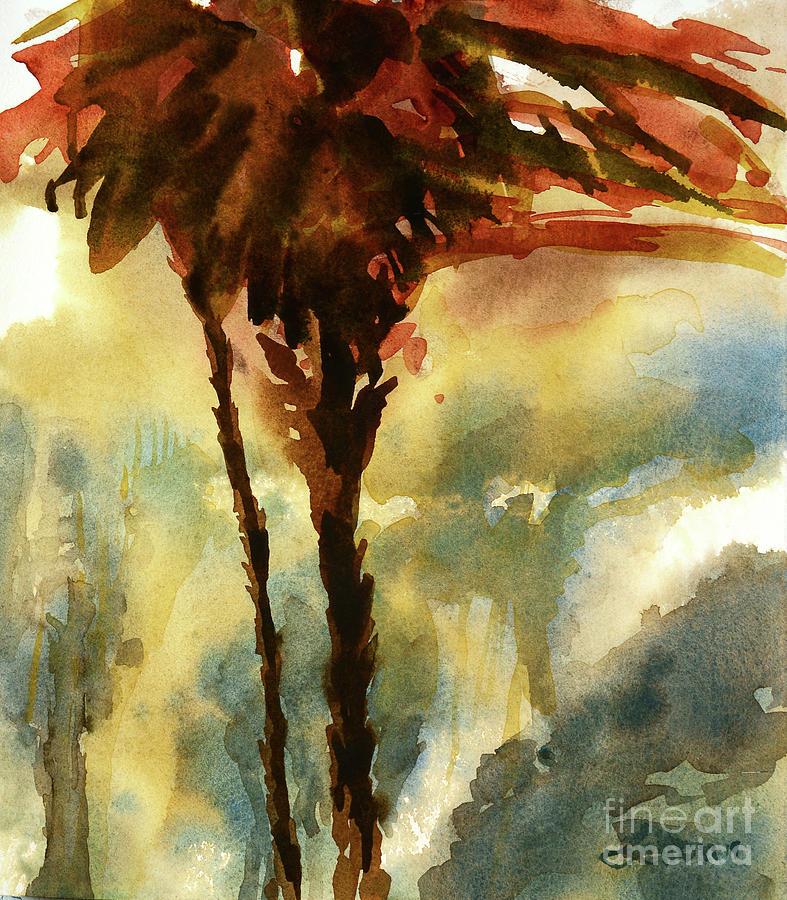 Palm Tree  9-6-19 by Julianne Felton