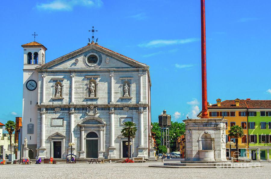 Palmanova cathedral - Udine province  - Friuli Venezia Giulia region - Italy by Luca Lorenzelli