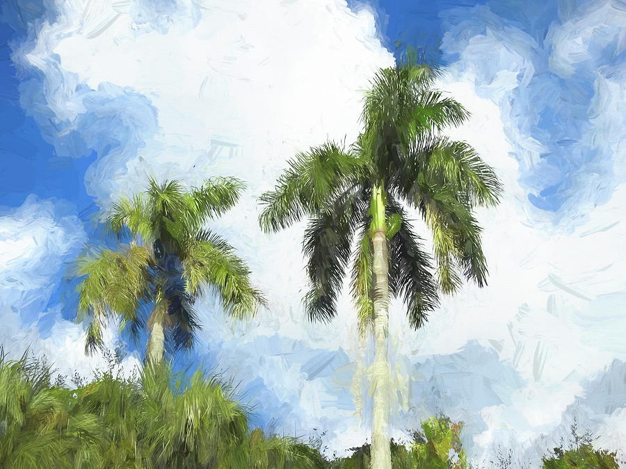 Palms at Emerson Point by Robert Stanhope