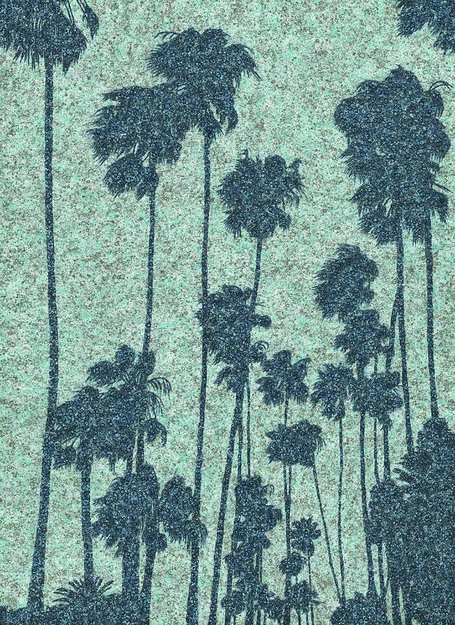 Palms over Palisades No. 2 by Keith McGill