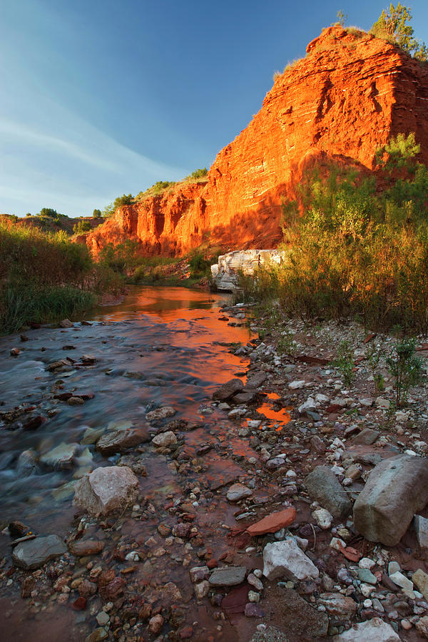 Palo Duro Canyon State Park, Texas, Usa Photograph by ...