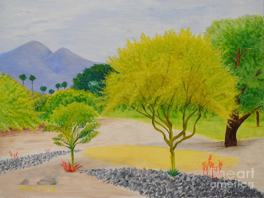 Palo Verde Trees by Mary Deal