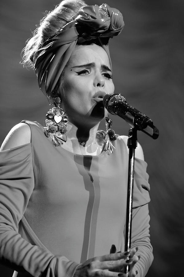 Paloma Faith Photograph - Paloma Faith Live At Manchester Apollo 2013 January 24th by Michelle Heighway