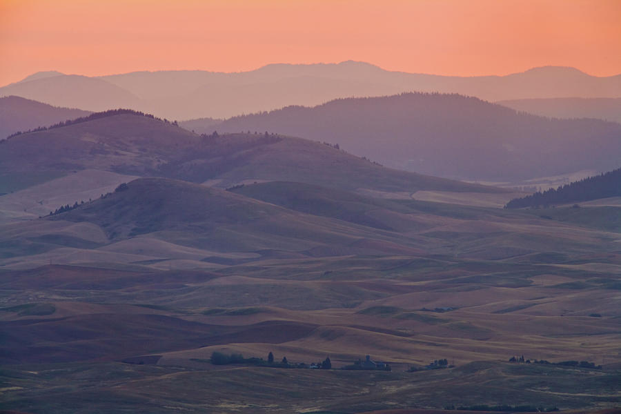 Palouse Morning From Steptoe Butte Photograph by Donald E. Hall