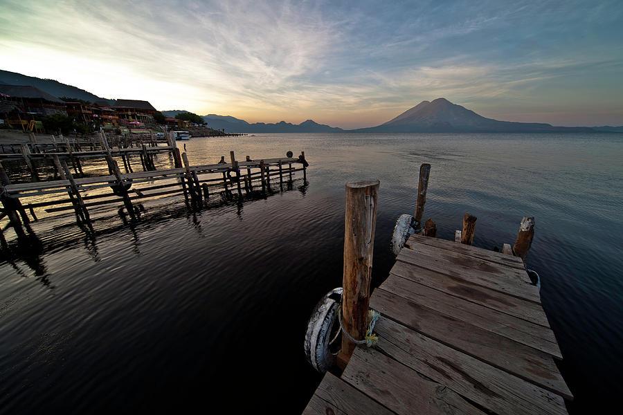 Panajachel, Lake Atitlan Photograph by Anthony Pappone